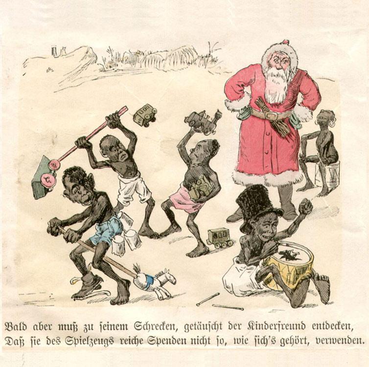 Knecht Ruprecht In Kamerun Bild 4